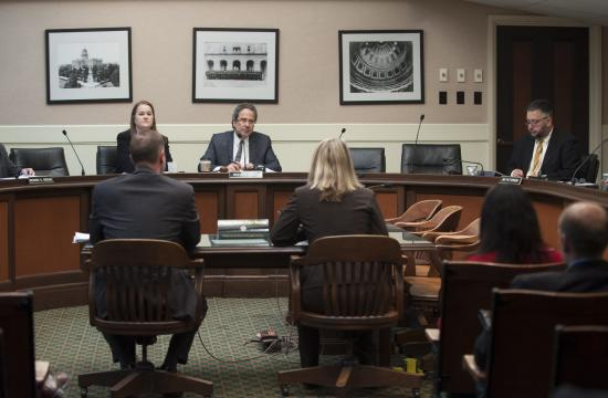 The Assembly Budget Subcommittee on Resources and Transportation