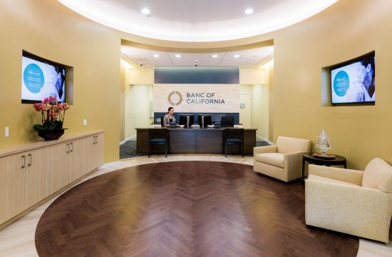 Banc of California has opened a new bank branch in Pacific Palisades.