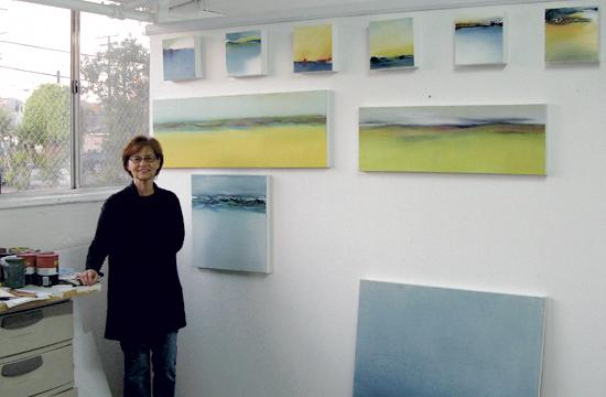 Santa Monica-based Vicki McClay will display about 20 of her paintings at Upper West through June 2014.