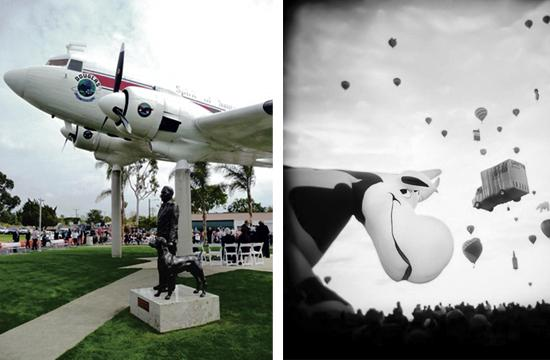 Santa Monica Airport is an arts incubator and home to more than 60 artists and creative venues.
