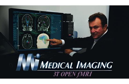 Dr. Bradley Jabour has developed fMRI technology that offers unprecedented precision in locating deviations in metabolic activity in the brain.