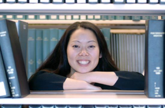 Incoming Santa Monica Public Librarian Maria Taesil Hudson Carpenter.