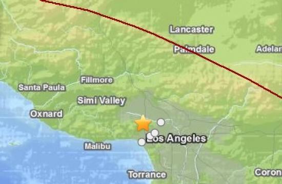 The 4.7 magnitude earthquake struck near Westwood on Monday morning.