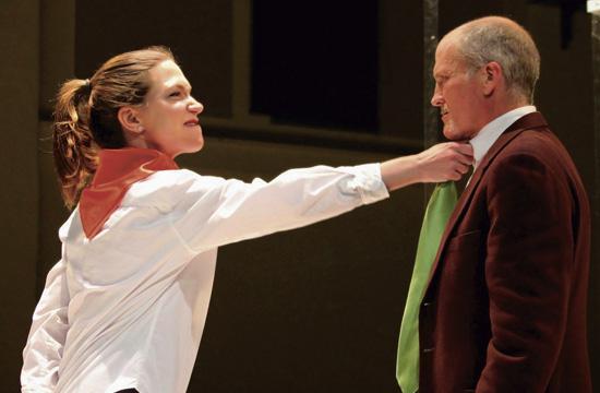 Barbara Urich as cut-throat Jan Ballas and Bart Petty as Josef Gross