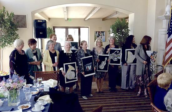 The Assistance League of Santa Monica held its installation ceremony on Wednesday.
