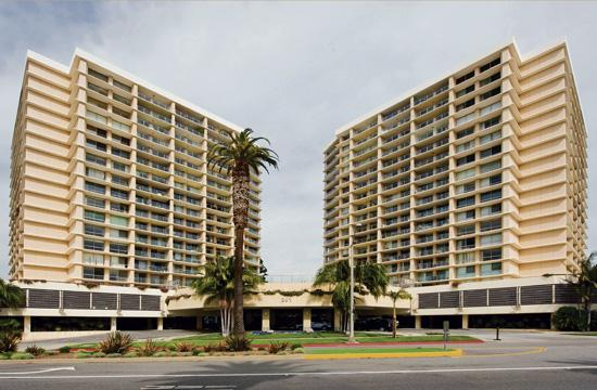 Ocean Towers is a 317-unit luxury apartment building high-rise located at 201 Ocean Avenue in Santa Monica.
