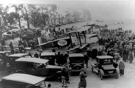Donald W. Douglas founded his aircraft manufacturing empire in Santa Monica just 17 years after the Wright Brothers first flew in 1903.
