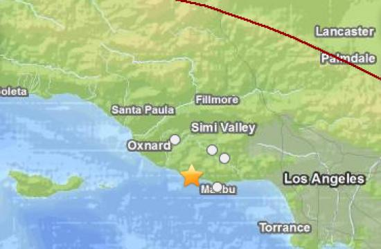 The 3.1 magnitude earthquake struck near Malibu on Thursday morning.