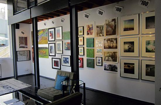 haleARTS S P A C E invites residents to the opening reception of its latest $100 Art SALE