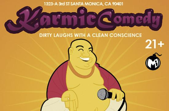 A fundraiser will be held Tuesday at Westside Comedy Theater in Santa Monica.