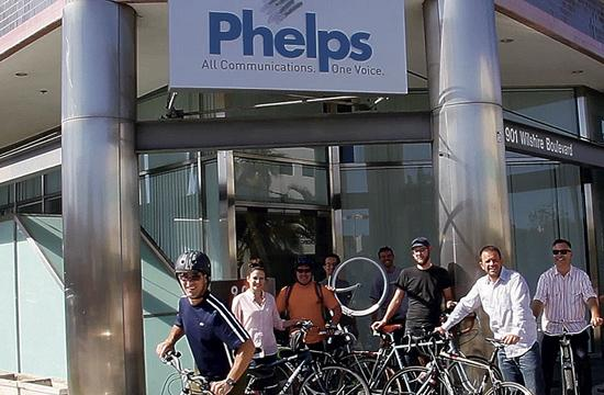 Phelps offers financial incentives to its associates for using alternate transportation.