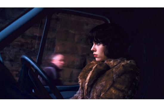 "Scarlett Johansson as an alien on the prowl for male victims in Jonathan Glazer's ""Under the Skin."""