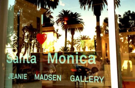 Jeanie Madsen Gallery is located at 1431 Ocean Avenue