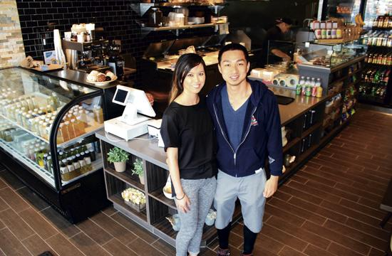 Rolan Pongpuntara and Sean Tao will host a grand opening celebration today for Chomp Eatery