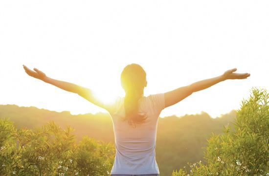 Sunshine increases the hormone serotonin