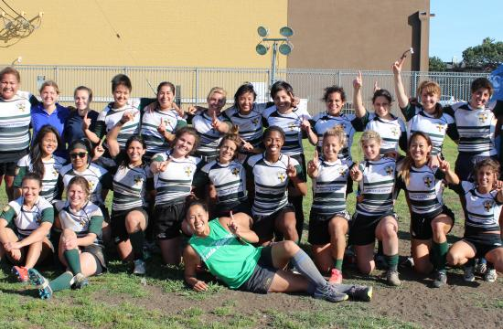 Santa Monica Rugby Club's Lady 'Phins