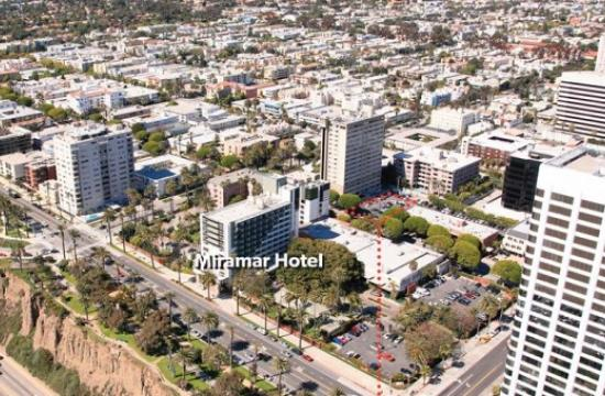The Miramar Hotel project is located at 101 Wilshire Boulevard in Santa Monica.