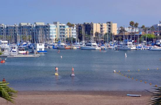 Crews continue the cleanup of thousands of dead fish in Marina del Rey.