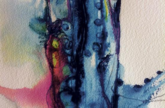 Stephanie Visser is one of the artists participating in the group show.