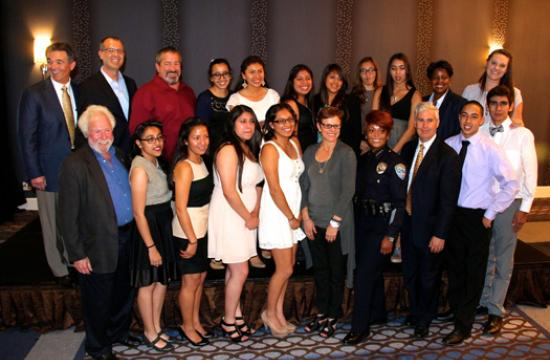 Santa Monica Police Activities League Awards Scholarships to 12 Local Students at Annual Recognition Dinner.