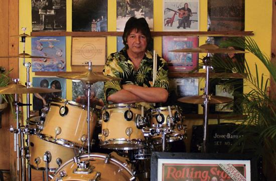 Visit the Santa Monica Music Center on June 11 to have a book signed by rock and roll drummer John Barbata.