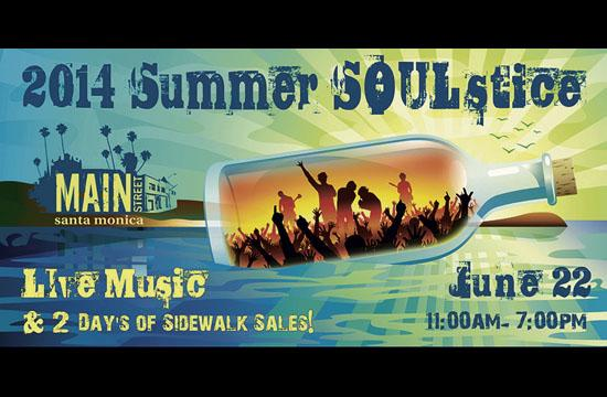 Main Street To Host Summer SOULstice Event