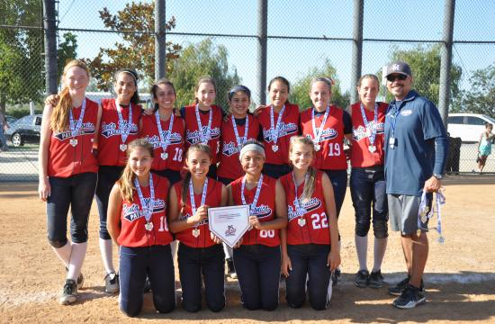 The Santa Monica 16U Santa Monica Patriots won their District Championship.