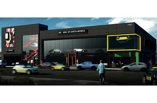 The Santa Monica City Council will weigh in on a MINI dealership proposing to bring a 35-foot high building to 1402 Santa Monica Boulevard.