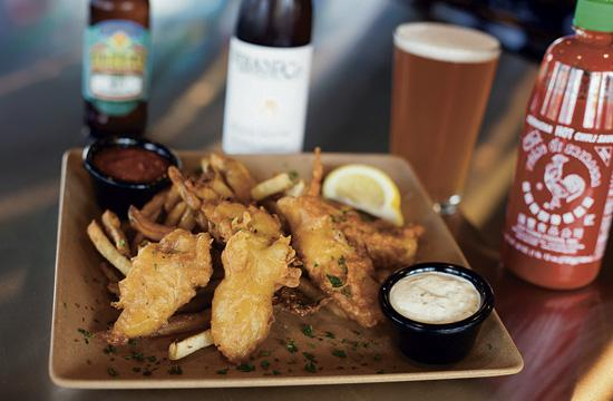Hermosa Beach Fish Shop opened in April. It offers more than 2