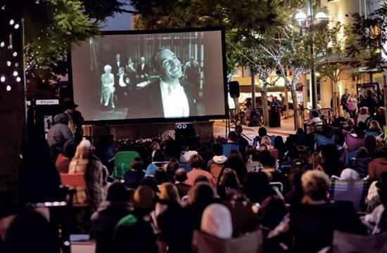 Cinema on the Street has expanded this year to six free screenings on Friday nights on the Third Street Promenade starting this week.