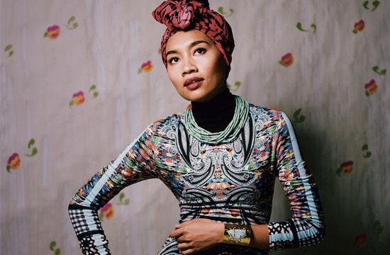 Malaysian-born singer-songwriter Yuna.