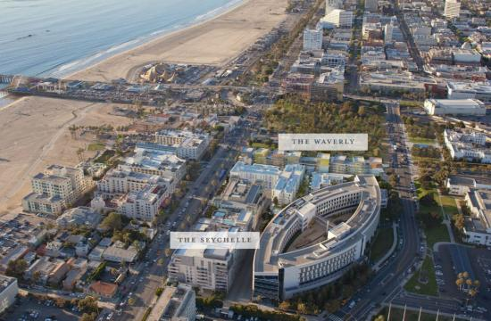Ocean Avenue South comprises two luxury residential buildings