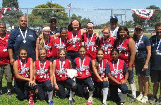 The 12U Gold All-Star team will compete at the Western National Championships starting July 28 near Sacramento.