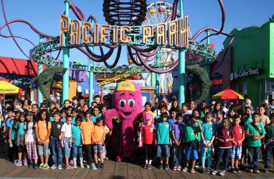 Pacific Park on the Santa Monica Pier hosted the 10th Annual PALpalooza on Wednesday