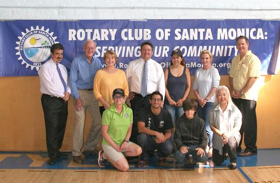 The Rotary Club of Santa Monica partnered with Vision to Learn to help bring gift of clear sight to the children at the Boys and Girls Clubs of Santa Monica.