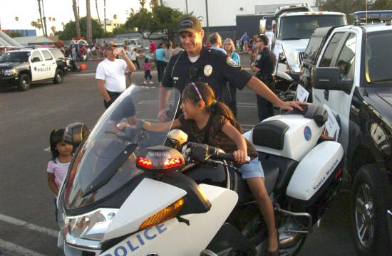 The Santa Monica Police Department encourages the community to participate in National Night Out today