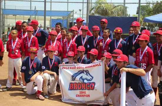 The Santa Monica Pony 12U baseball team has advanced to the Pony Bronco World Series tonight.