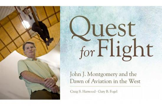 The Museum of Flying's presentation series continues featuring the author of the biography of Californian aviation pioneer John J. Montgomery.