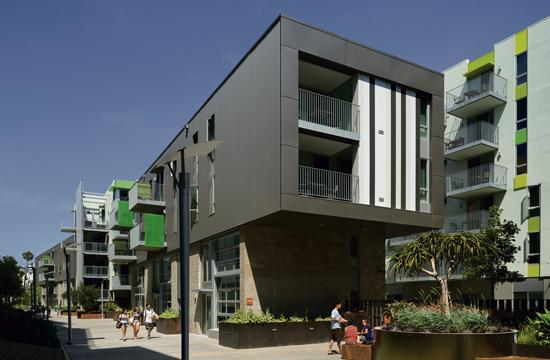 Belmar Apartments, the largest affordable housing development that the City of Santa Monica has ever helped finance, is now providing homes for 160 families.