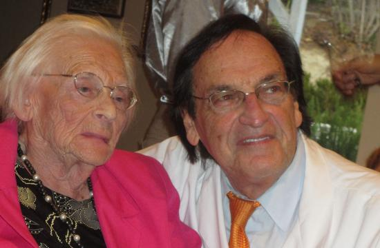 Morry Waksberg and his mother Ida are taking St. John's hospital to court regarding a malpractice claim.