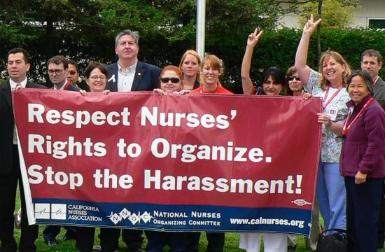Santa Monica councilman Kevin McKeown who is seeking re-election has gained the support of the California Nurses Association.