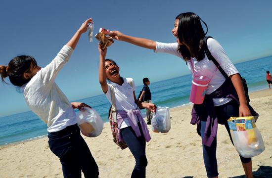 Volunteers will do their part to clean up local beaches