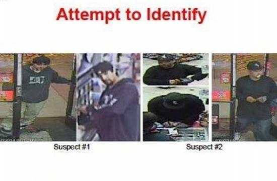 The two Malibu car theft suspects.