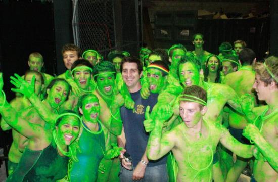 The Santa Monica High School 'greenie run' will take place this Friday.