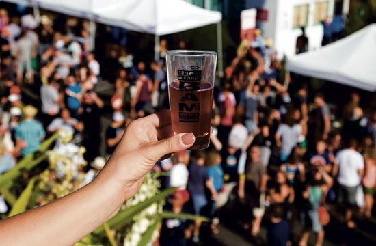 BAM Fest attendees can enjoy more than 40 craft breweries on Sunday
