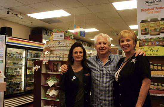 Santa Monica Homeopathic Pharmacy owner Bob Litvak with homeopath Maggi Shanley (left) and manager Kathy Scott.