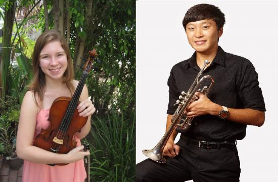 Santa Monica High School's Celia Daggy and Christopher Pak will perform with the 2014 NAfME All-National Honor Orchestra at the Grand Ole Opry House in Nashville.