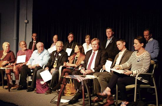 All 14 Santa Monica City Council candidates participated in an election forum Oct. 21 at Cross Campus.