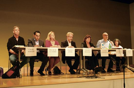The seven SMMUSD Board of Education candidates.