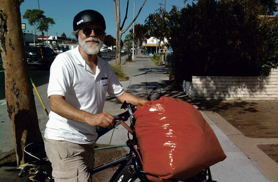 Resident Jan Ludwinski will be part of the clean-up efforts Saturday morning along Lincoln Blvd.